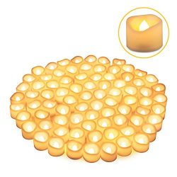 LED Tea Lights Candles, Kohree Flameless Candles Battery Operated LED Candles, Flickering Tealig ...