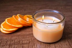 Fresh Expressions Scented Candles | Infused with Citrus Essential Oil | Premium 3 Wick Candles | ...