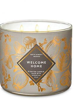 Bath and Body Works White Barn Welcome Home 3 Wick Candle 14.5 Ounce