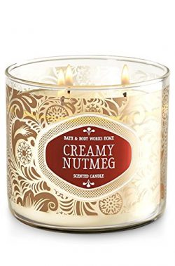 CREAMY NUTMEG 3-Wick Scented Candle