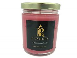 3R Candles Christmas Carol Scented Candle Soy/Paraffin Wax Glass jar – Fall & Winter H ...
