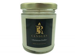 3R Candles Christmas Cookie Scented Candle Soy/Paraffin Wax Glass jar – Fall & Winter  ...