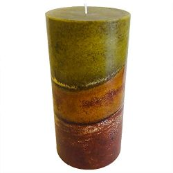 Wicks N More Amish Harvest Handmade Pillar Candles (3×6)