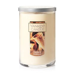 Yankee Candle Large 2-Wick Tumbler Candle, French Vanilla