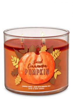 Bath and Body Works Sweet Cinnamon Pumpkin 3-Wick Candle 14.5 oz / 411 g