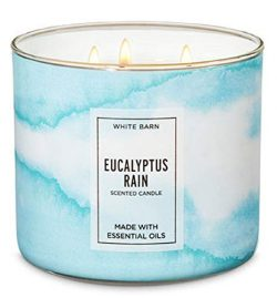 Bath and Body Works New for 2019 Eucalyptus Rain (eucalyptus, spearmint, spring rain)14.5 oz 3 W ...