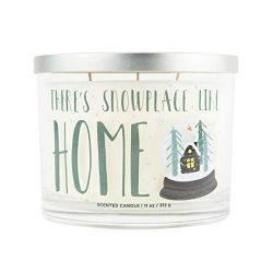 Aromascape There's Snowplace Like Home Candle, White