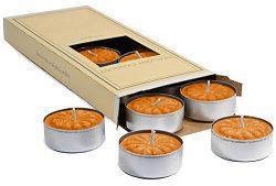 Pumpkin Spiced Tealight Candles ((10 Pack)