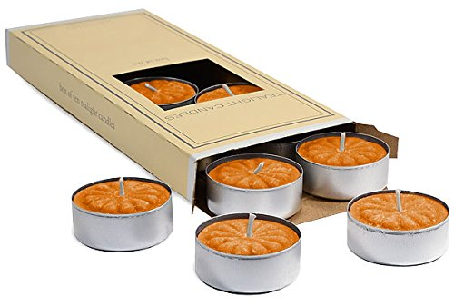 Pumpkin Spiced Tealight Candles ((10 Pack)