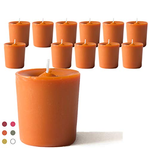 CandleNScent Scented Candles | Votive Candles Bulk – 15 Hour Burn Time (Color/Scent Variat ...