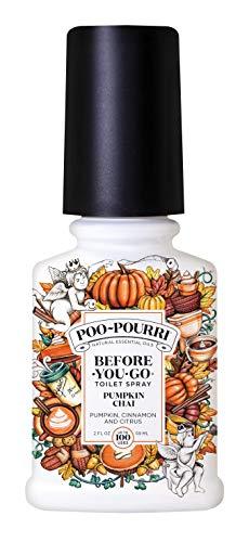 Poo-Pourri Before-You-Go Toilet Spray, Pumpkin Chai Scent, 2 oz