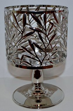 Bath & Body Works Vine Leaf Pedestal 3 Wick Candle Sleeve Holder