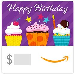 Amazon eGift Card – Birthday Cupcakes