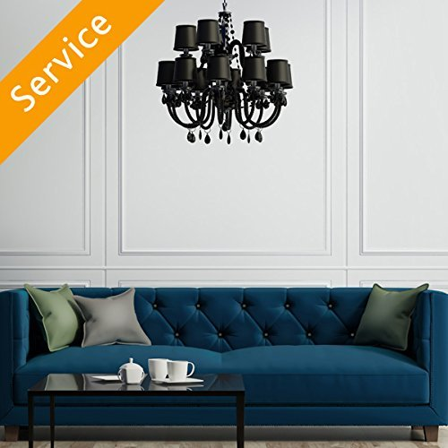 Chandelier Replacement (Commercial) – Under 10 ft.