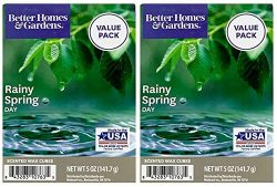 Better Homes and Gardens Rainy Spring Day Scented Wax Cubes 5oz – 2-Pack
