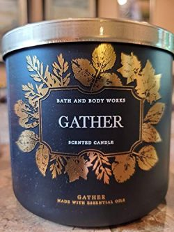 White Barn Bath & Body Works 3 Wick Candle Gather