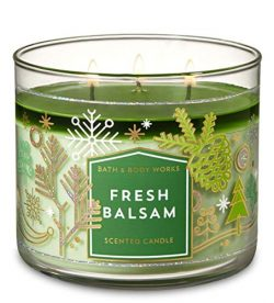 Bath & Body Works Slatkin & Co. Fresh Balsam 3-wick Candle