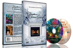 Fireplaces & Christmas Scenery – DVD with Fireplace and Snow & Xmas Decorations wi ...