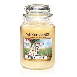 Spring Days Large Jar Candle,Fresh Scent