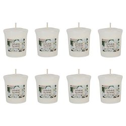 DII Z02095 Single Wick Evenly Burning Highly Scented Votive Candle for Wedding, Birthday, Holida ...