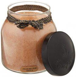 A Cheerful Giver Pecan Belgium Waffles 34oz Papa Jar Candle
