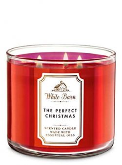 White Barn Bath & Body Works 3-Wick Scented Candle in The Perfect Christmas (2019)