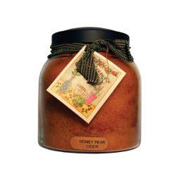 A Cheerful Giver Honey Pear Cider 34 oz. Papa Jar Candle, 34oz