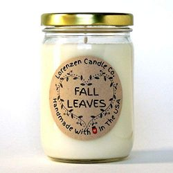 Fall Leaves Soy Candle, 12oz
