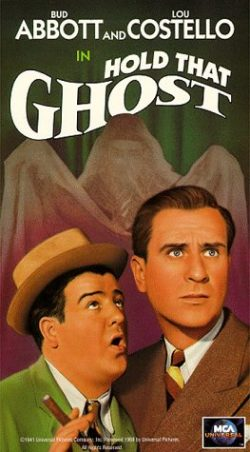 Hold That Ghost [VHS]