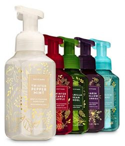 Bath and Body Works Christmas Favorites Foaming Hand Soaps – Set of 5: Marshmallow Flurrie ...