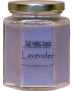 Lavender Scented Blended Soy Candle   Relaxing Lavender Fragrance   Hand Poured in the USA by Ju ...