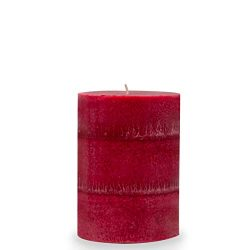 Wicks N More Red Hot Cinnamon Scented Candles, 3X4 Pillar