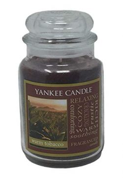 Yankee Candle Large Jar Candle (Large Jar, Warm Tobacco)