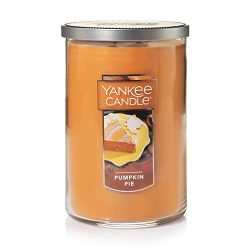 Yankee Candle Large 2-Wick Tumbler Candle, Pumpkin Pie