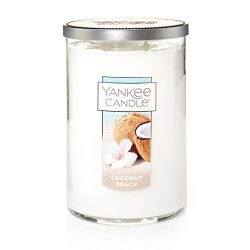 Yankee Candle Large 2-Wick Tumbler Candle, Coconut Beach