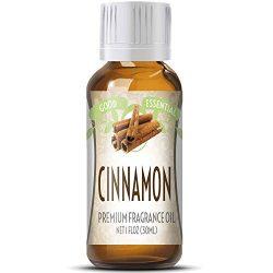 Cinnamon Scented Oil by Good Essential (Huge 1oz Bottle – Premium Grade Fragrance Oil)  ...