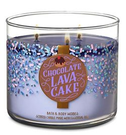 Bath and Body Works Chocolate Lava Cake Candle – Large 14.5 Ounce 3-Wick – New for C ...
