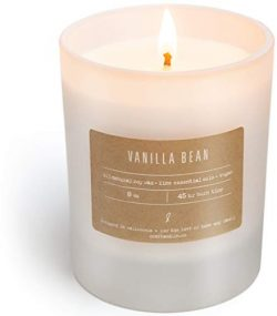 Scented Soy Candles, Premium All-Natural Soy Wax Candles | Luxury Decorative Frosted White Candl ...