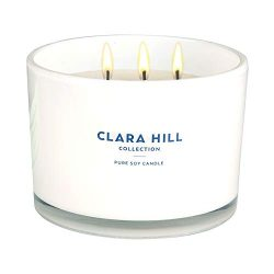 Clara Hill Collection – Baked Apple & Cinnamon – 100% Pure Soy Wax | Large 12 oz ...