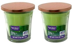 Better Homes Gardens 17oz Scented Candle, Rainy Spring Day 2-Pack