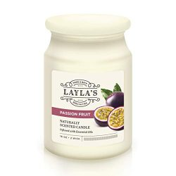 Laylas 2-Wick Scented Candle for Stress Relief, Aromatherapy & Relaxation – Naturally  ...