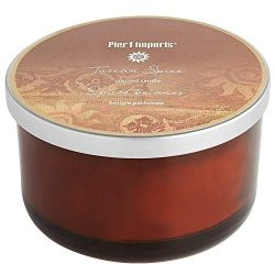 Pier 1 Filled 3-Wick Candle Spring Collection (Tuscan Spice)