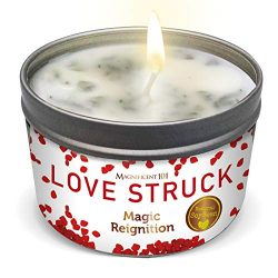 Magnificent Love Struck Valentine's Day Aromatherapy Candle for Love, Romance, Couples  ...