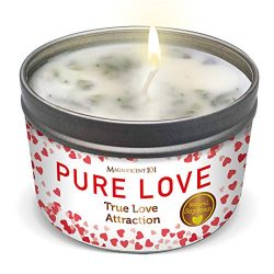 Pure Love Valentine's Day Aromatherapy Candle for Love Attraction, Romance – Sage Ro ...
