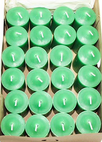 Enlightened Ambience Christmas Tree Scented Candles (24 votives, Green)
