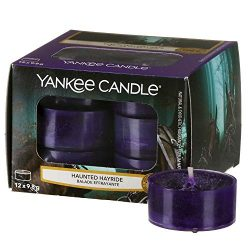 Yankee Candle Halloween Haunted Hayride 12 Tea Light Candles