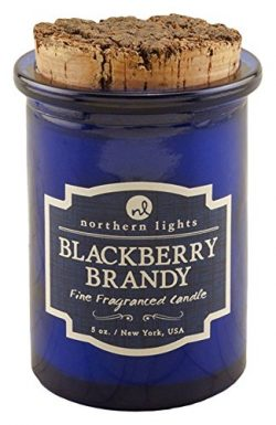 Northern Lights Candles Spirit Jar Candle, 5 oz, BlackBerry Brandy