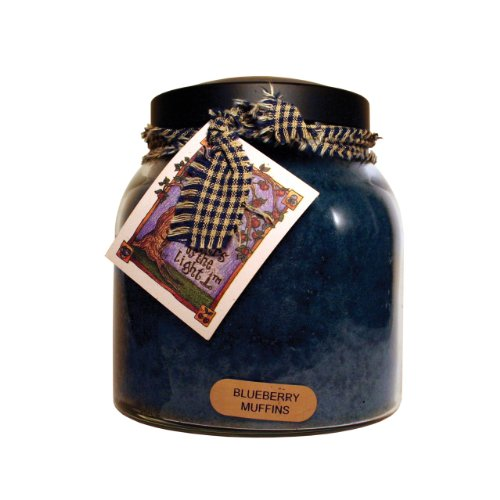 A Cheerful Giver Blueberry Muffins 34 oz. Papa Jar Candle, 34oz