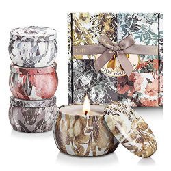 NAVND Scented Candle Gift Set to Relieve Stress and Relax Aromatherapy, 100% Soy Wax Lead-Free S ...