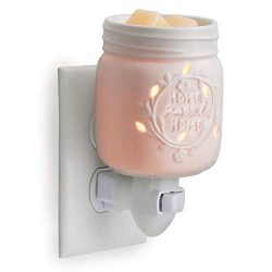 CANDLE WARMERS ETC Pluggable Fragrance Warmer- Decorative Plug-in for Warming Scented Candle Wax ...